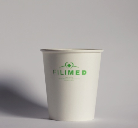 FILIMED - Logokubek 8 oz